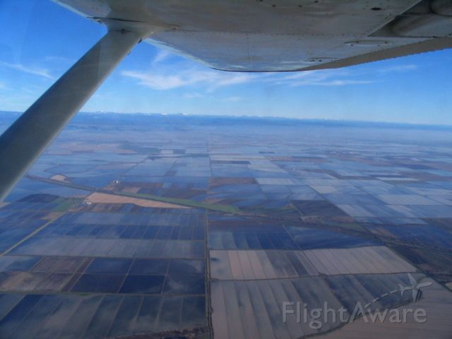 Cessna 152 (N66970) - Inflight from KHWD to KCIC