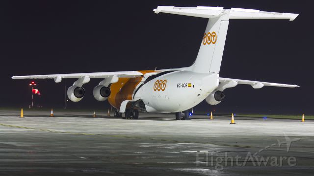 British Aerospace BAe-146-300 (EC-LOF)