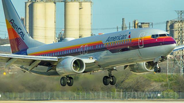 Boeing 737-800 (N917NN) - 22 approach.<br />Jan. 3,2021