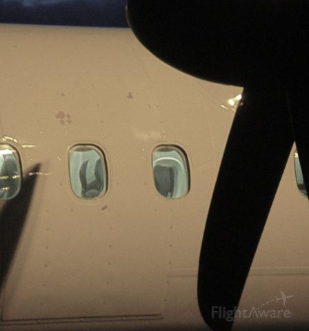 — — - Am wondering if this indicates some propeller damage or not. Anyone who knows can say?