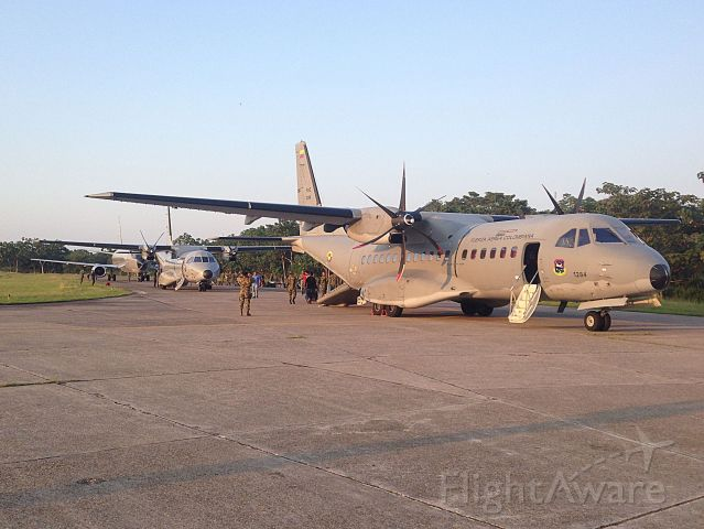 Casa C-295 Persuader (FAC1284) - Colombian Air Force in military operations.