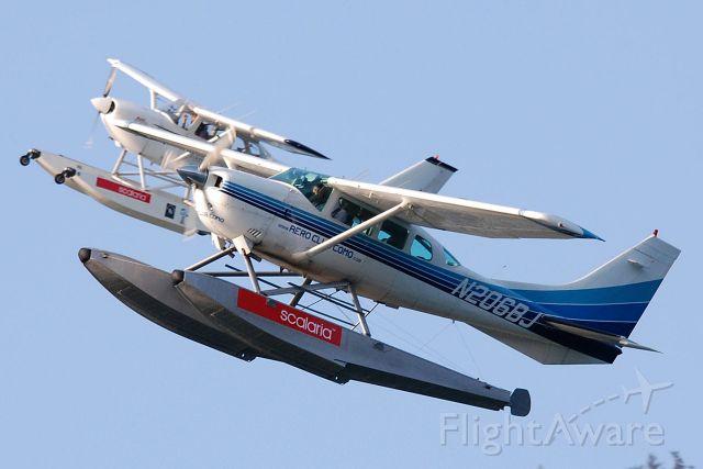 Cessna 206 Stationair (N206BJ) - Scalaria 2013 Wolfgangsee, Austria