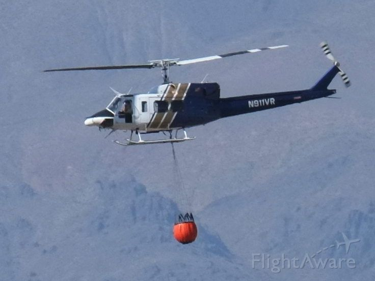 N911VR — - During firefighting operations near Lone Pine, California on July 1, 2016.