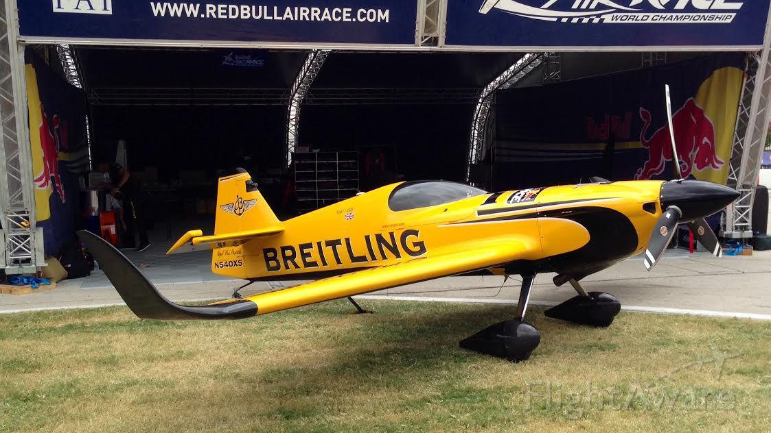 Experimental  (N540XS) - Nigel Lamb #9 - MXS-R, N540XS, at Red Bull Air Race at Texas Motor Speedway 2014