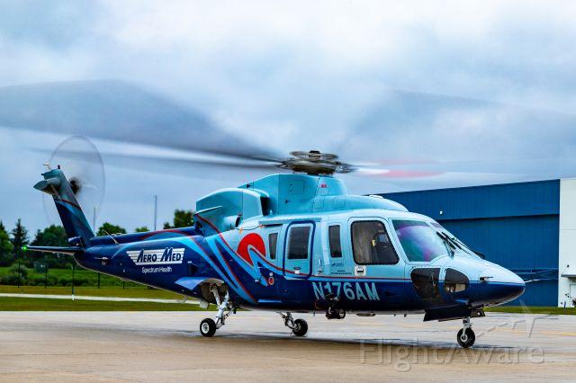 Sikorsky S-76 (N176AM) - AeroMed 1 at KGRR