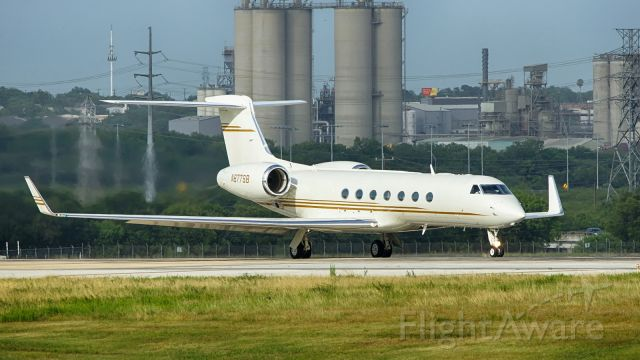 Gulfstream Aerospace Gulfstream V (N877SB) - Departing 22.