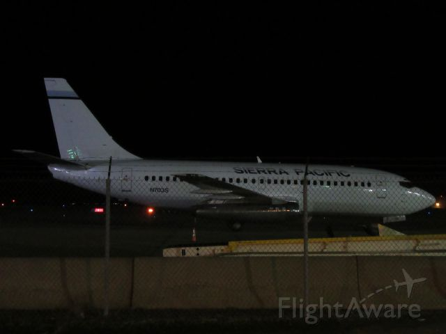 Boeing 737-700 (N703S) - One of both of Sierra Pacifics 732s sitting at PIT overnight