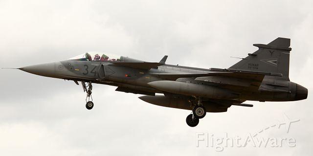 Saab JAS39 Gripen (HUNAF34) - HUNGARIAN AIR FORCE