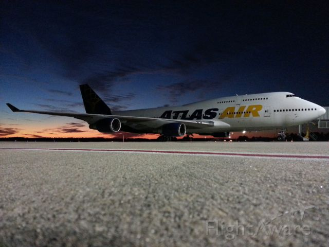 Boeing 747-400 (N465MC) - Atlas Air B744 in Tally for the National Championship