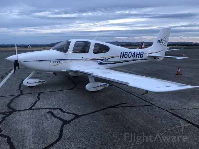 Cirrus SR-22 (N604HB) - Sonoma, California. The day we bought the airplane.