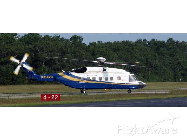 Sikorsky Helibus (N314RG) - WOW - that