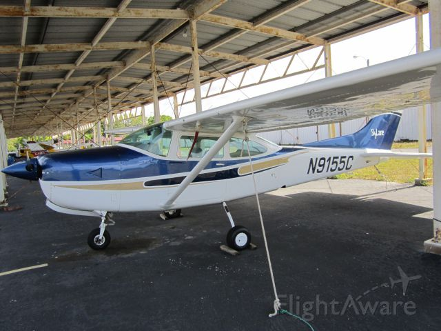 Cessna Skylane (N9155C) - CLEARWATER AIRPARK, CLEARWATER, FL, USA  02.22.2013
