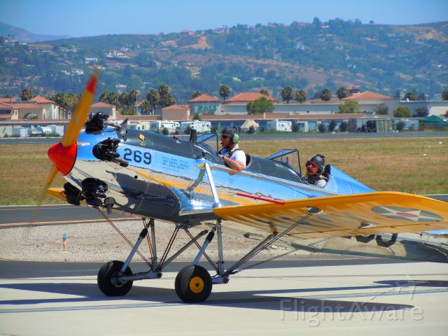— — - PT-19 taxiing at Camarillo airport air show 8/21/10