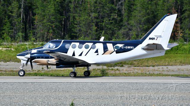 Beechcraft King Air 100 (C-GMNL) - MAX180