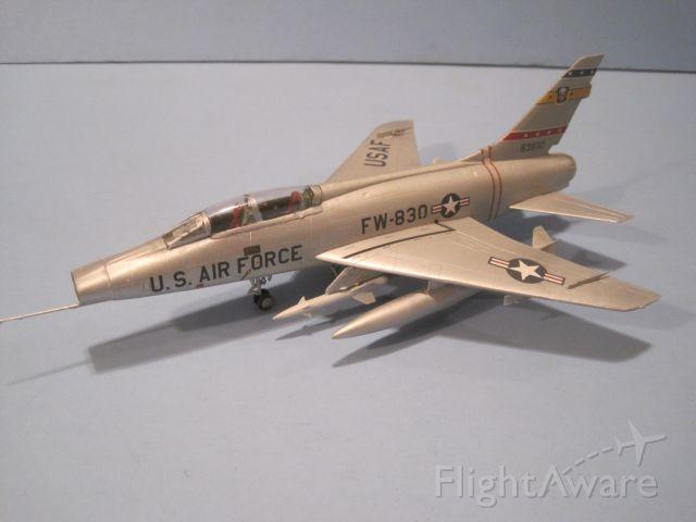 — — - 1/72 scale North American F-100F Super Sabre