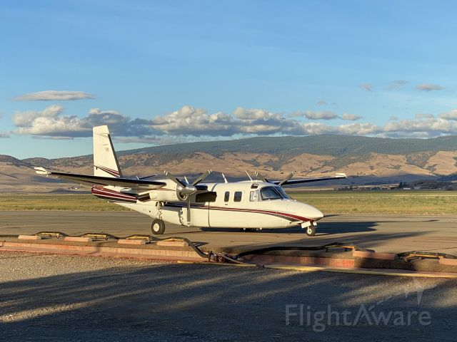 Rockwell Turbo Commander 690 (N840KB) - On fire assignment in Siskiyou.