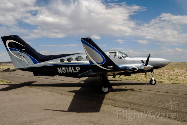 Cessna Chancellor (N514LP) - New paint job!