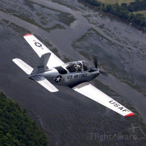 Beechcraft Mentor (N34LF) - The Broad River