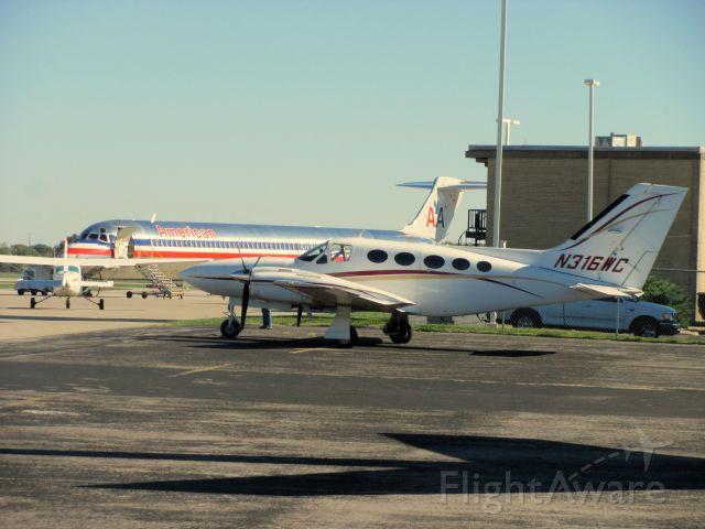 Cessna 421 (N316WC)