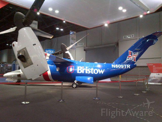 Bell BA-609 (N609TR) - AgustaWestland AW609(N609TR)at Heli-Expo 2015 Orlando FL