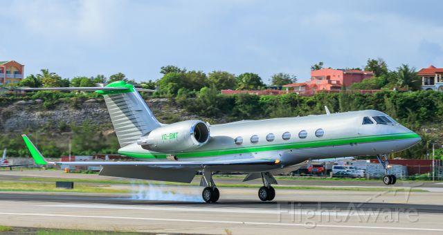 Gulfstream Aerospace Gulfstream IV (VQ-BMT) - VQ-BMT landing at TNCM St Maarten
