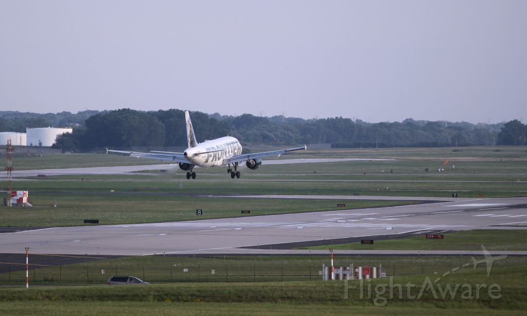 Airbus A319 (N933FR) - FFT323