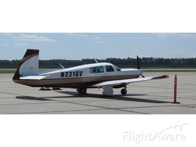 Mooney M-20 (N231GV) - A very fast aircraft!
