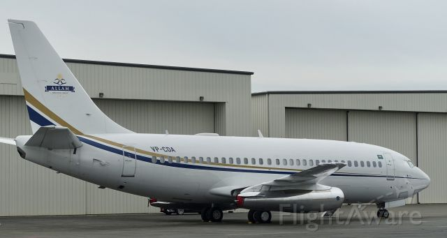 Boeing 737-700 (VP-CDA) - Rare 737-200, 37 year oldie still active in 2018 ! Allam Holding Group