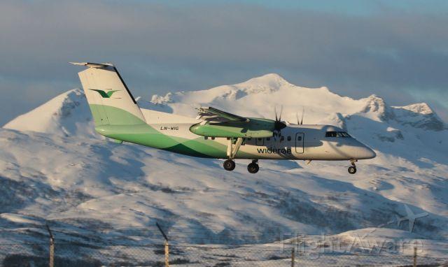 de Havilland Dash 8-100 (LN-WIG)