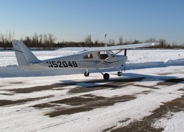 Cessna Skycatcher (N52049) - After a perfect landing on RW26.
