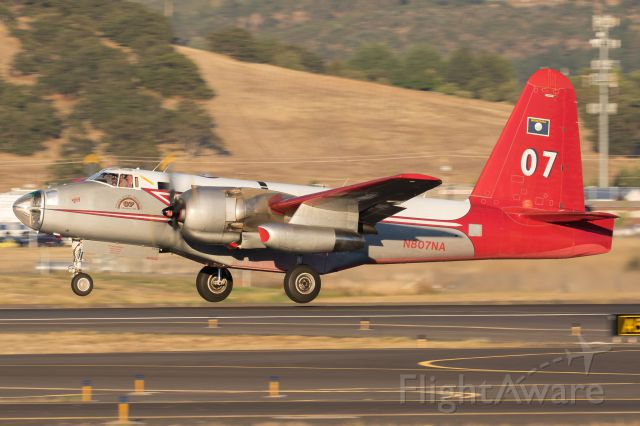 Lockheed P-2 Neptune (N807NA) - Departing for the Gap Fire.
