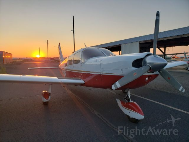 Piper Saratoga (N4118R) - Headed out at sunrise