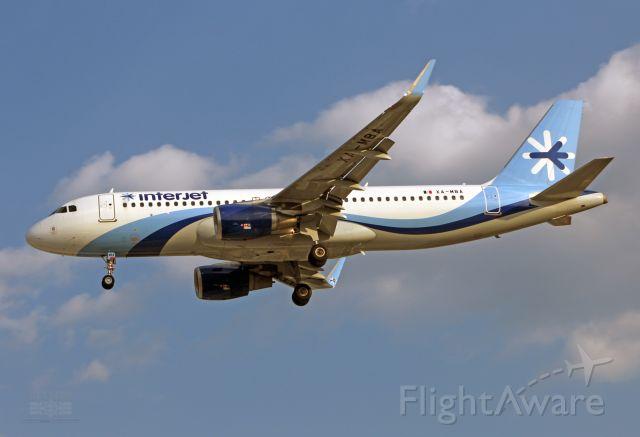 Airbus A320 (XA-MBA) - Interjet / Airbus A320-214 - MSN 7345 / XA-MBA / MMMX 04/2019