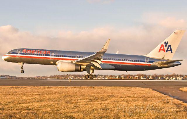 Boeing 757-200 (N658AA) - RWY27 landing