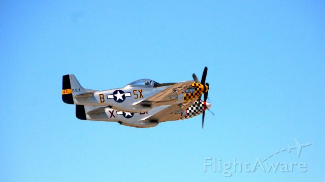 North American P-51 Mustang (46-3684) - I took this photo at Luke AFB Open House. The pilots flew a beautiful and close formation. These fellows know how it is done!