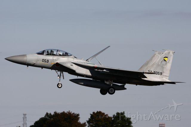 McDonnell Douglas F-15 Eagle (32-8059) - November 2, 2012br /Japan Self-Defense Force