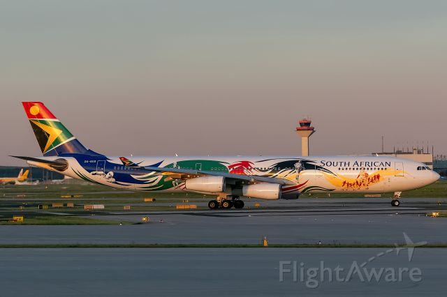 Airbus A340-300 (ZS-SXD)