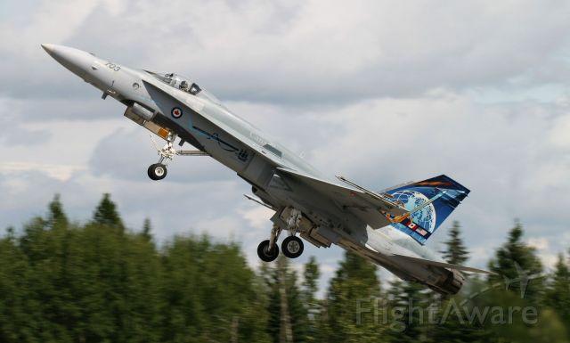 McDonnell Douglas FA-18 Hornet (18-8703) - Rocky Mountain House Alberta