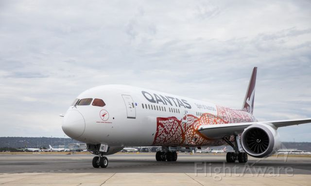 — — - The Boeing 787-9 Dreamliner touched down ahead of schedule....FIRST NON STOP FLIGHT FROM PERTH TO HEATHROW 17hours Qantas 9 (QF9) touched down at Terminal Three at 5.02am, just over 17 hours.