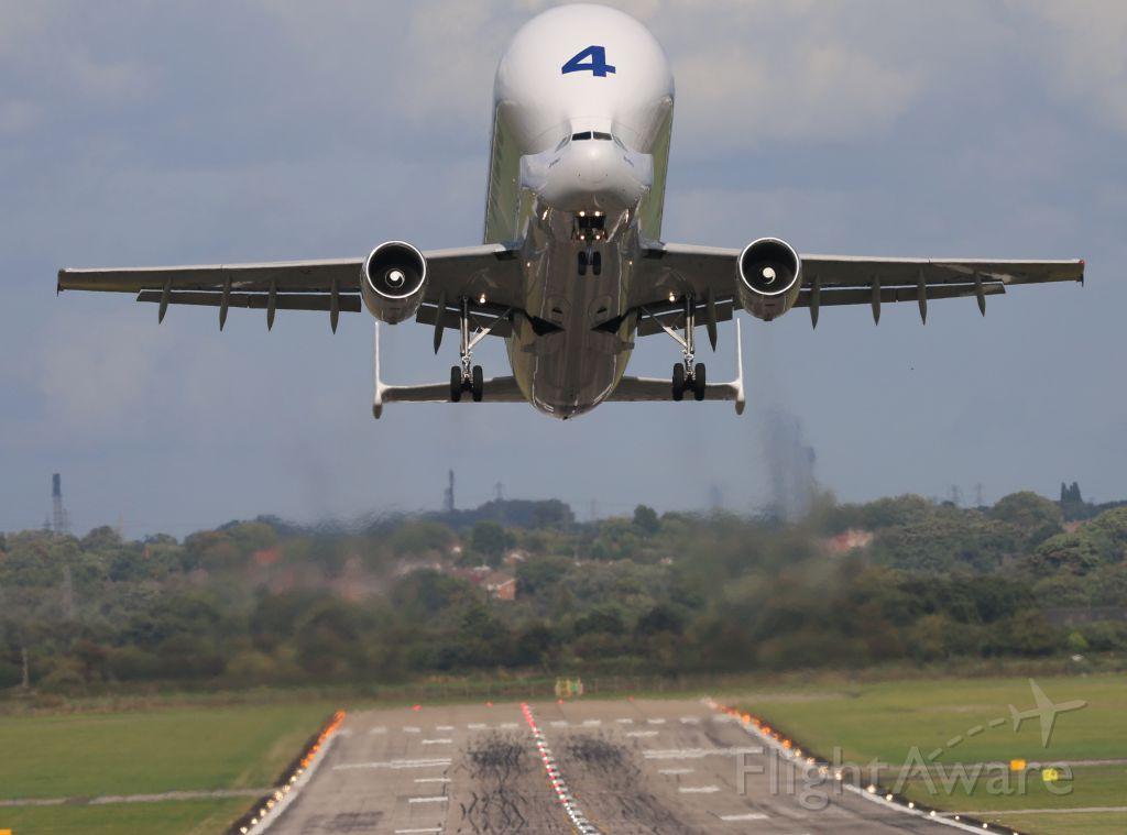 Airbus A300F4-600 (F-GSTD) - HAWARDEN AIRPORT UK
