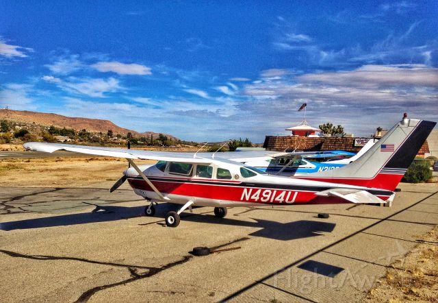 Cessna Centurion (N4914U) - N4914U - 1965 Cessna 210E at L22 Yucca Valley CA
