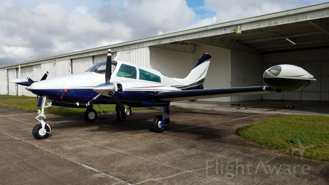 Cessna 310 (N69842) - New Paint Job