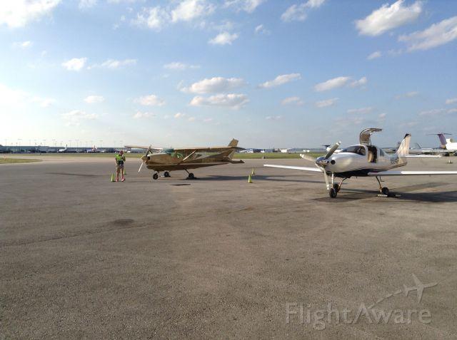 Cessna Centurion (N9419T) - Million Air in SAT....soooooo nice