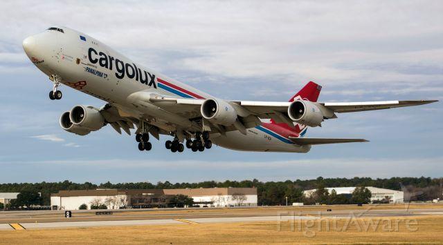 Boeing 747-200 (LX-VCH) - Up close :)