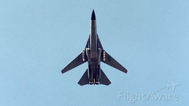 Grumman EF-111 Raven — - F-111G pass at Plattsburgh AFB, NY
