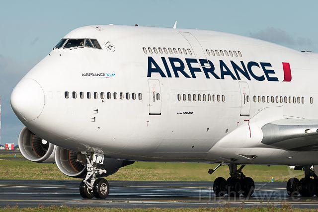 Boeing 747-400 (F-GITJ) - le 14/01/2016 retour du dernier tour de France pour dire au revoirbr /br /01/14/2016 Return of the final round of France to say goodbye