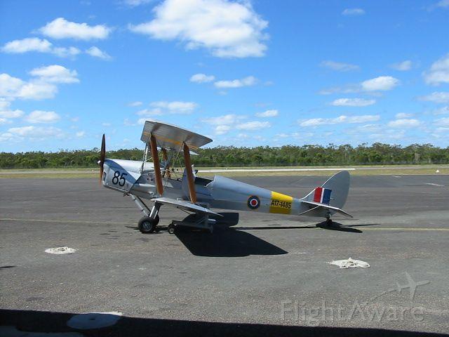 OGMA Tiger Moth (A171485) - Tigerfly's Tiger Moth at Hervey Bay airport