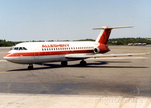 British Aerospace BAC-111 One-Eleven — - Allegheny Airline BAC-11 Pier C at KBWI