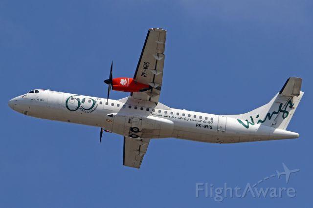 "Aerospatiale ATR-72-600 (PK-WHS) - ""60th ATR 72 to Lion Group"" cs"