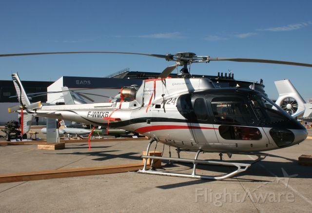 Eurocopter AS-350 AStar (F-WMXB) - Eurocopter AS-350B-3E Ecureuil - Paris Le Bourget (LFPB-LBG) Air Show in june 2011